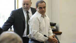 En el tribunal. Scalcione en 2012