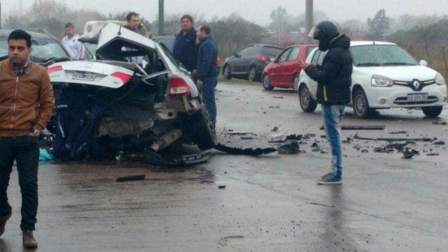 Buscan al conductor de un tercer auto que habría causado el fatal accidente