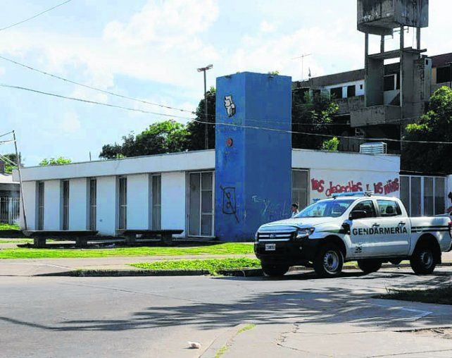 centro de salud. El lugar donde mataron a Marcelo Adrián Basualdo.