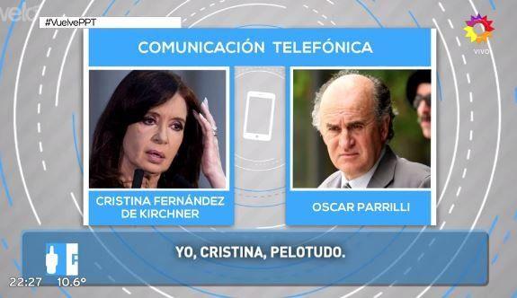 Lanata difundió nuevas escuchas de Cristina que le pide a Parrilli embocarlo a Massa