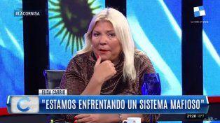 Carrió pidió paciencia a la sociedad y pronosticó que De Vido termina preso por 30 años