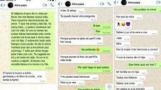 Aparecieron chats en los que el Polaco dice que extraña y ama a Valeria Aquino