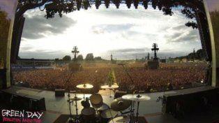 Los fans de Green Day cantaron a coro Rapsodia Bohemia de Queen en el Hyde Park en Londres.