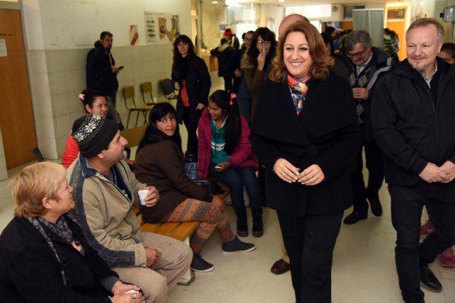 La intendenta Mónica Fein confía en que el gobierno le dará luz verde a sus proyectos de inversión.