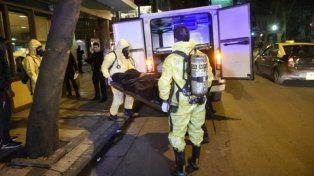 silencio. Los cuerpos de la pareja fueron trasladados al Instituto Médico Legal para realizar la autopsia.