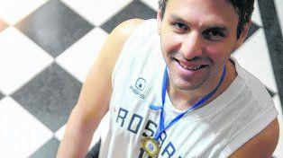 nadie es profeta en el basquet de rosario, yo volvi para ser campeon, dijo pablo fernandez