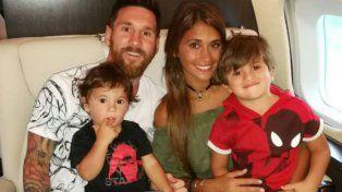 Se terminaron las vacaciones para Messi que vuelve a pensar en la pelota y pronto se subirá a otro avión
