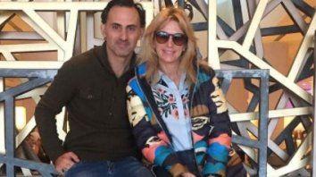 La pareja publicó una imagen en Instagram en la que se los ve juntos en Uruguay.