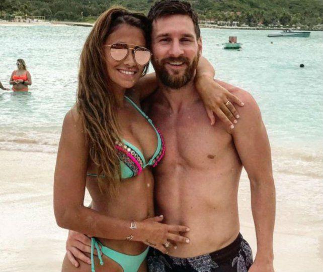 Antonela luce una bikini de la marca Guadalupe Cid.