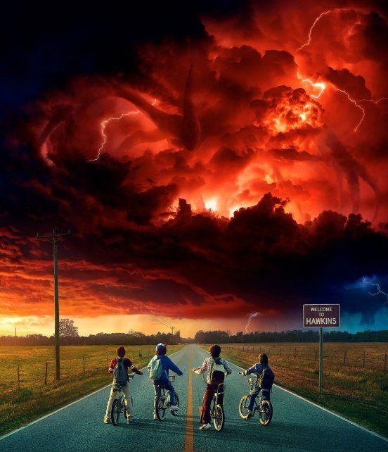 Los cuatro protagonistas de Stranger Things se enfrentan a una nueva amenaza.