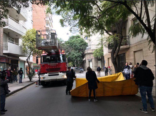 La imagen del operativo rescate. (Foto vía:@MumiYadanza)