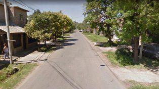 La zona. La mujer falleció en el ingreso a su vivienda tras sufrir el asalto.