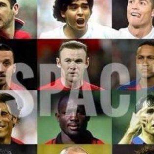 una imperdible version de despacito compila los nombres de 178 futbolistas