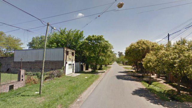 La vivienda está ubicada en Juan B. Justo al 8200.