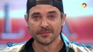 Con lágrimas en los ojos, Peter Alfonso se despidió del Bailando donde formó su familia