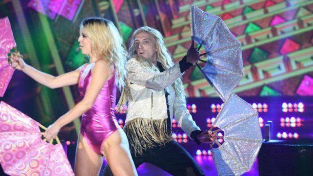 Debutó Solange Báez en el Bailando que está feliz por la conexión con el Polaco