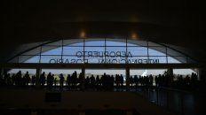 El aeropuerto internacional de Rosario.