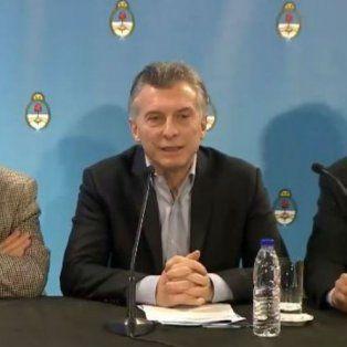 macri dijo en cordoba que los impuestos estan matando a los argentinos y pidio bajarlos