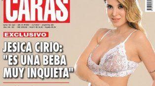 Jéscia Cirio se desnudó para mostrar su embarazo y revelar el sexo de su bebé