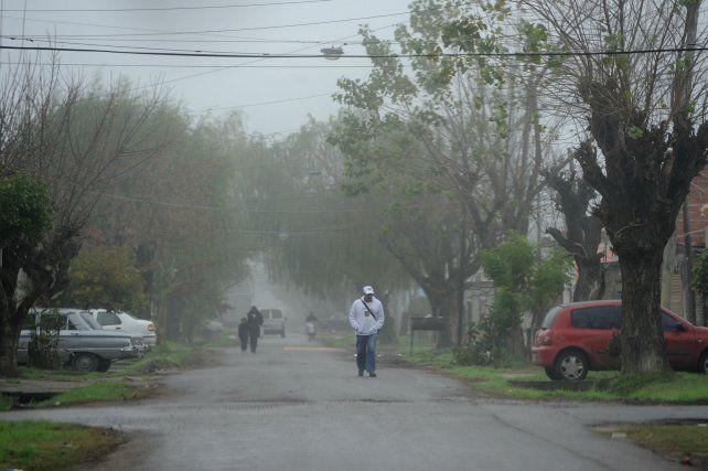 Vallejos fue baleado a balazos en la esquina de Valparaíso y Rueda. Murió más tarde en el Heca.