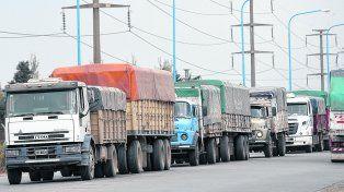 cambios. En épocas habitualmente pico, la caída de la actividad de los transportistas llegó al 80% en algunas situaciones.