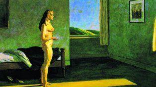 Woman in the Sun (1961), de Edward Hopper (1882-1967).
