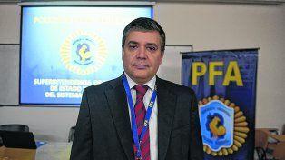 Subcomisario Claudio Schiavoni