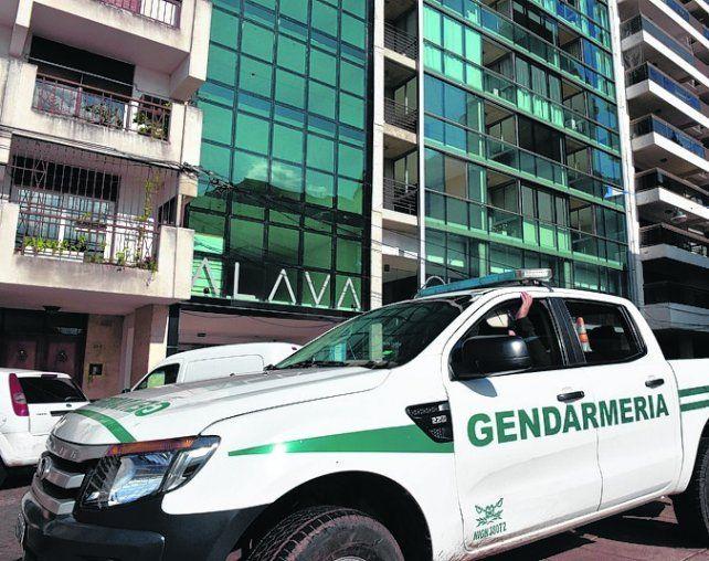 red en la mira. Gendarmería efectuó nuevas detenciones.