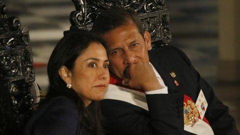 adentro. Humala y su esposa Nadine Herrera ya están en prisión.