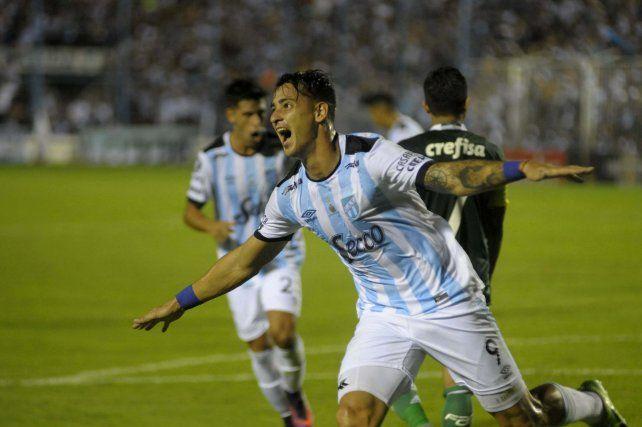 El goleador de Atlético Tucumán