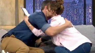 Pampita lloró junto a José María Listorti al recordar al aire la muerte de su hija Blanca