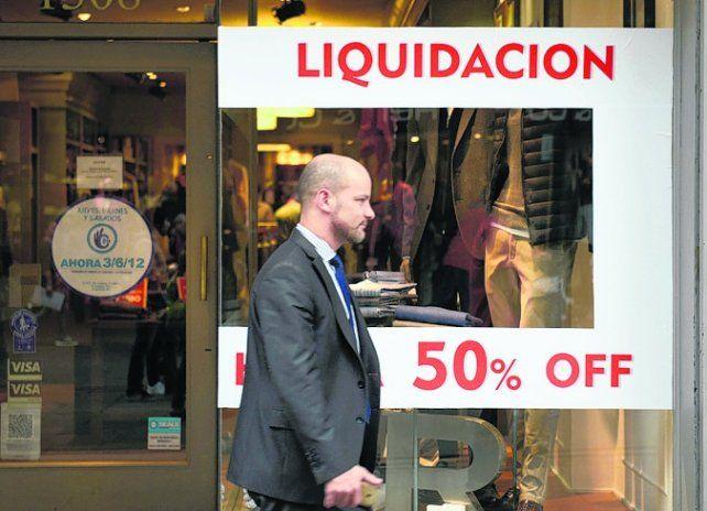 bolsillos flacos. Las ventas cayeron más del 20 por ciento.