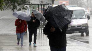 Alerta por vientos intensos con ráfagas para el sur de la provincia de Santa Fe