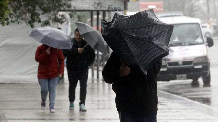 Rige un alerta meteorológico por vientos intensos con ráfagas para la provincia