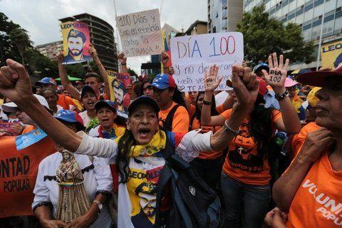 Tensión. Venezuela lleva más de cien días de protestas