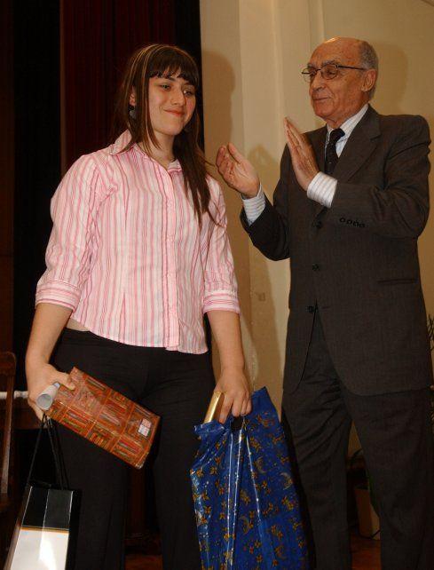 Un momento mágico con Saramago