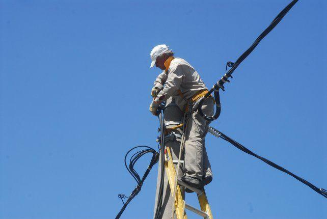 Las cuadrillas de la EPE realizarán tareas de mantenimiento.