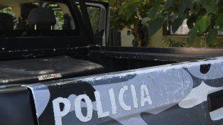 Esta mañana se produjo un enfrentamiento entre policías y un delincuente.