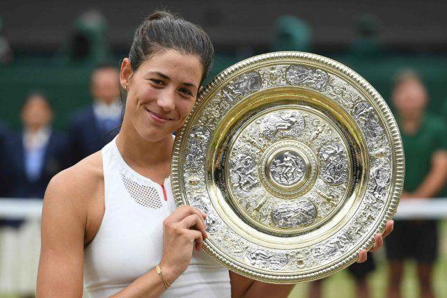 La española Garbiñe Muguruza se coronó en Wimbledon tras derrotar a Venus Williams
