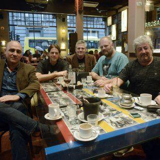 Equipo de directores. Juan Pablo Buscarini, Pablo Rodríguez Jáuregui, Hugo Grosso, Gustavo Postiglione, Héctor Molina y Néstor Zapata.