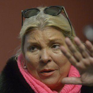 Carrió arremetió contra Julio de Vido, exministro del gobierno de Cristina Fernández de Kirchner.