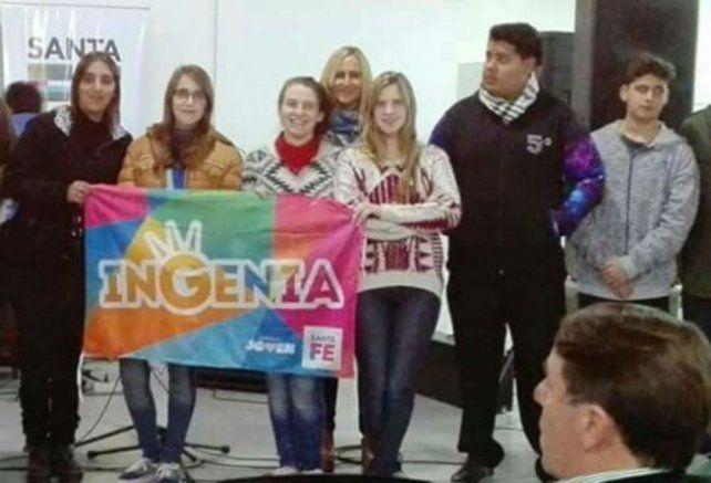 Organizados. El trabajo fue realizado por alumnos y ex alumnos de la Escuela Brigadier López.