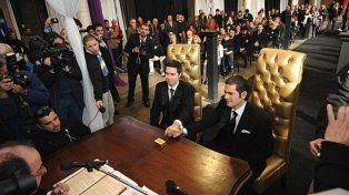 Julio de 2010. Peretti Scioli y Marvich se casan en el Patio de la Madera.
