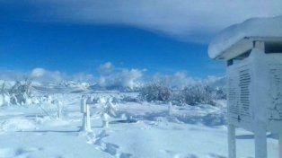 Con 25,4 grados bajo cero, Bariloche registró la temperatura más baja de su historia