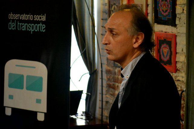 Crítico. El ex edil le apuntó a la gestión del socialismo en Rosario.