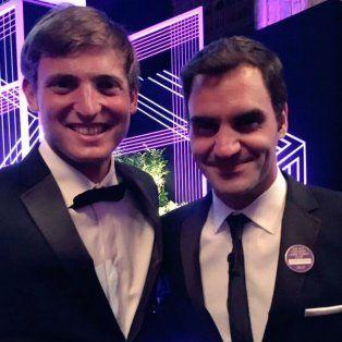 axel geller, el junior argentino que estuvo con federer en la cena de campeones de wimbledon