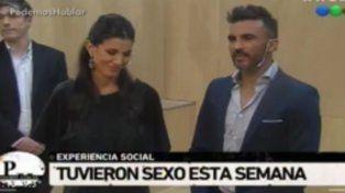 Poroto Cubero reveló en televisión que esta semana mantuvo relaciones sexuales