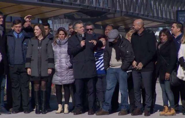 Macri: Todos los días me levanto pensando qué se puede hacer para acelerar el cambio