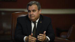 El ministro del Interior Pablo Farías lidera el reclamo de la deuda que tiene Nación con Santa Fe por comparticipación.