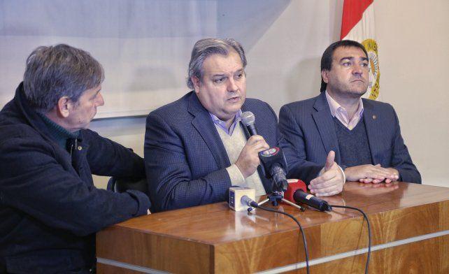 Farías dio a conocer el plan del gobierno provincial para cobrar la deuda por coparticipación.